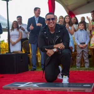 Wls quick look daddy yankee celebra su estrella en el for Fast house music