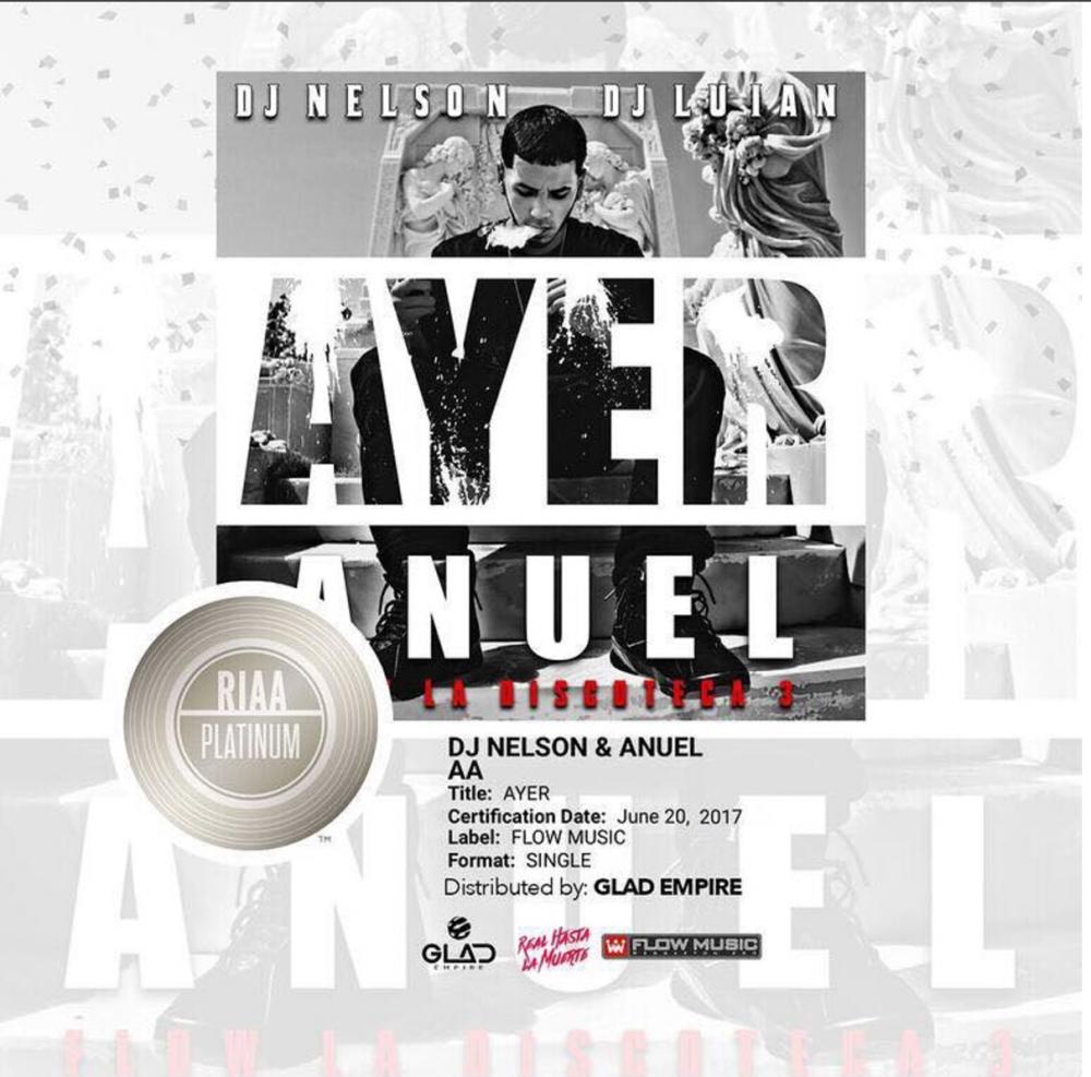 Wls quick look 39 39 anuel dj nelson obtienen disco de for Fast house music
