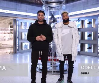 newest collection 700f7 f4e2b Odell Beckham Jr. Goes Sneaker Shopping With Complex ...